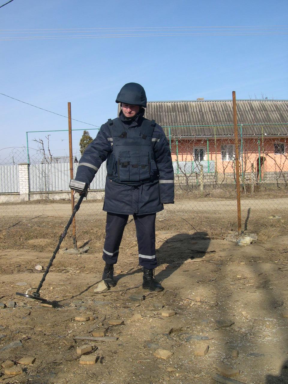 Небезпечна знахідка в Мукачеві